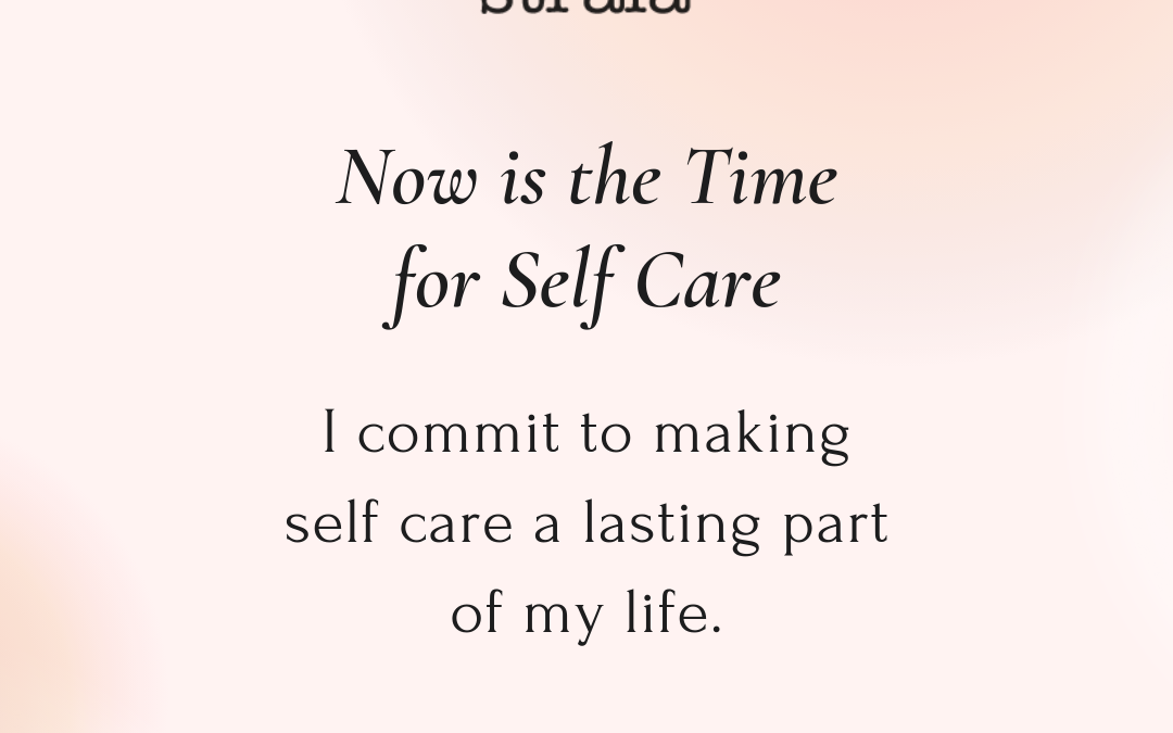September Strala Home Calendar: Now is the Time for Self Care